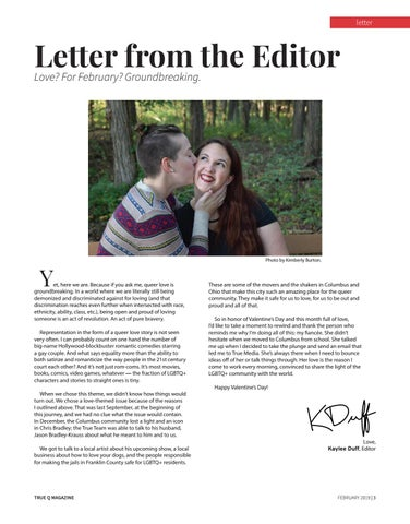Page 5 of Letter From The Editor