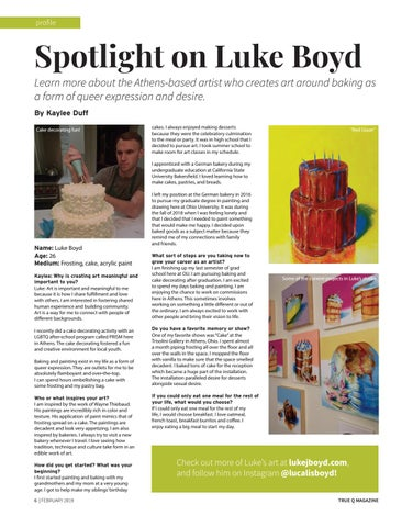 Page 8 of Spotlight On Luke Boyd