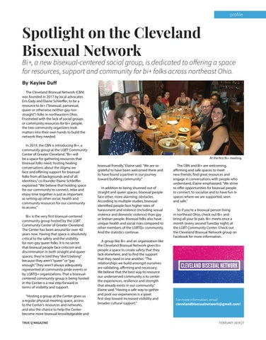 Page 9 of Spotlight On The Cleveland Bisexual Network