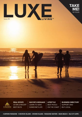 LUXE LIVING ISSUE #9 by Crown Realty International by ADV