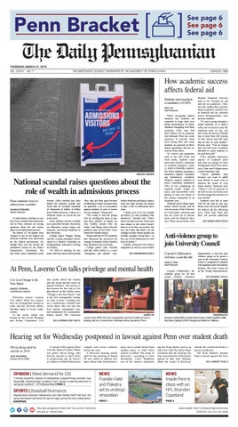 March 21, 2019 by The Daily Pennsylvanian - issuu