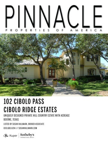 Pinnacle Properties of America: Vol  XI, No  1 - Kuper Sotheby's