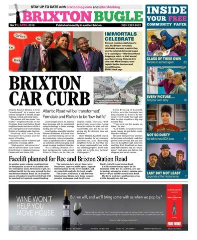 8bf1c771 Brixton Bugle April 2019 by Brixton Bugle - issuu