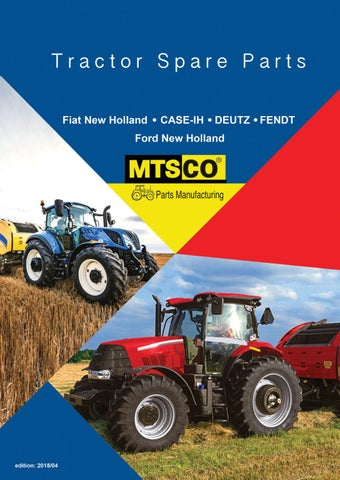 Fiat New Holland*Cade-IH*Deust*Fendt*Massey Ferguson*Ford New