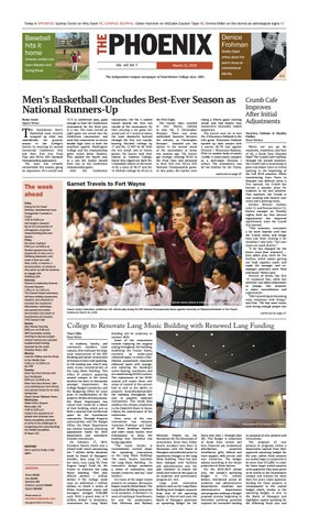 Swarthmore Phoenix March 21, 2019 by The Phoenix - issuu