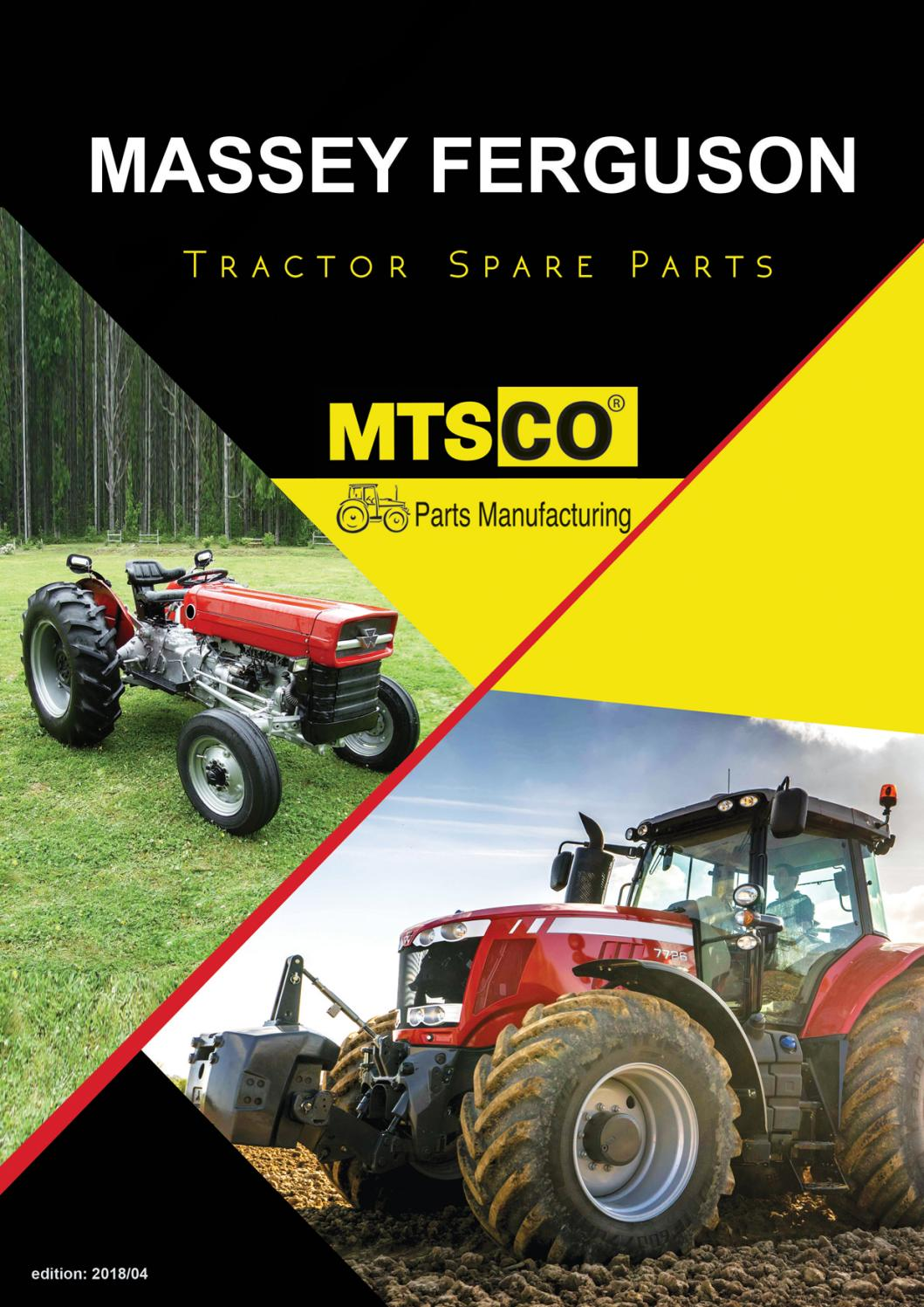 Massey Ferguson Tractor Spare Parts by MTSCO/METSAN MAKİNA