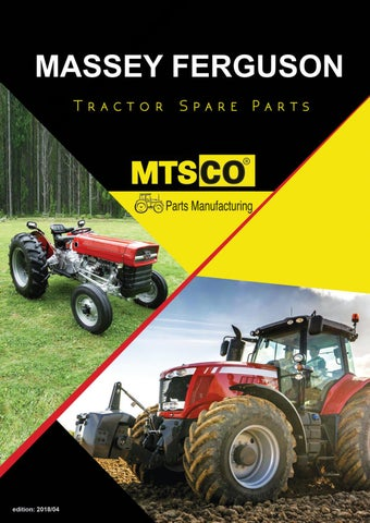 Massey Ferguson Tractor Spare Parts by MTSCO/METSAN MAKİNA - issuu