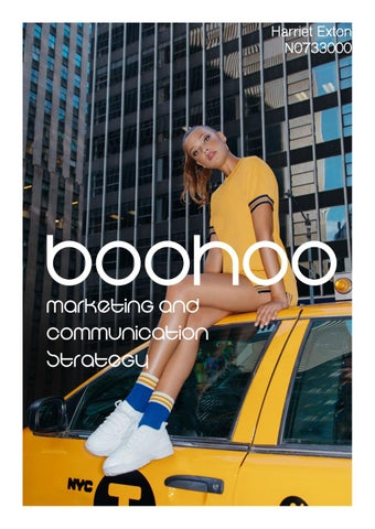 3284b505f19 Boohoo Marketing and Communications Strategy by Harriet Exton - issuu
