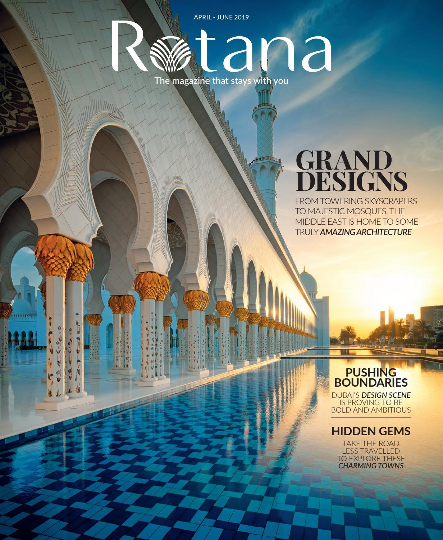 b74ab7a33 Rotana April-June 2019 by Rotana Magazine - issuu