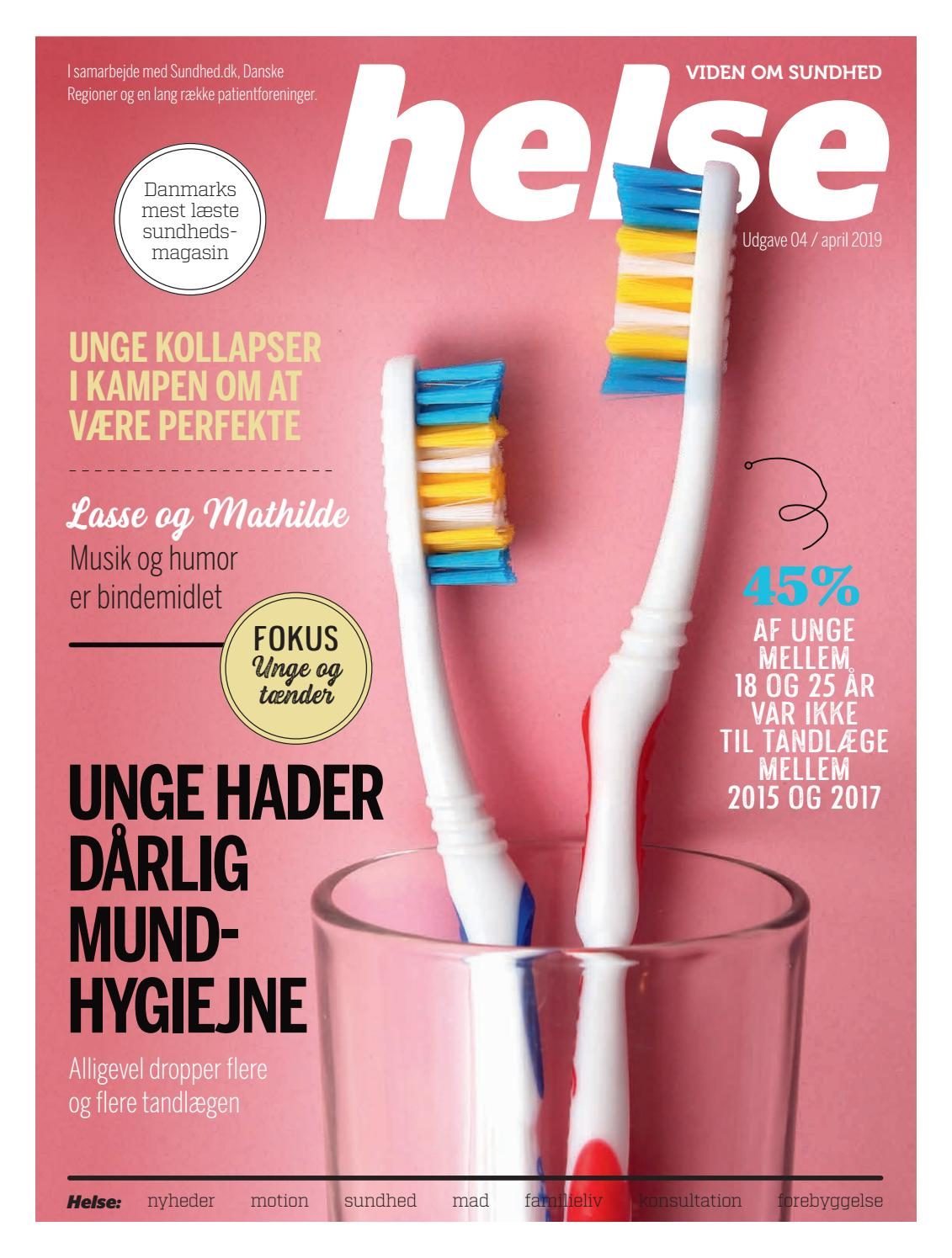 755ce00f0111 Helse-2019-04 by Mediegruppen as - issuu