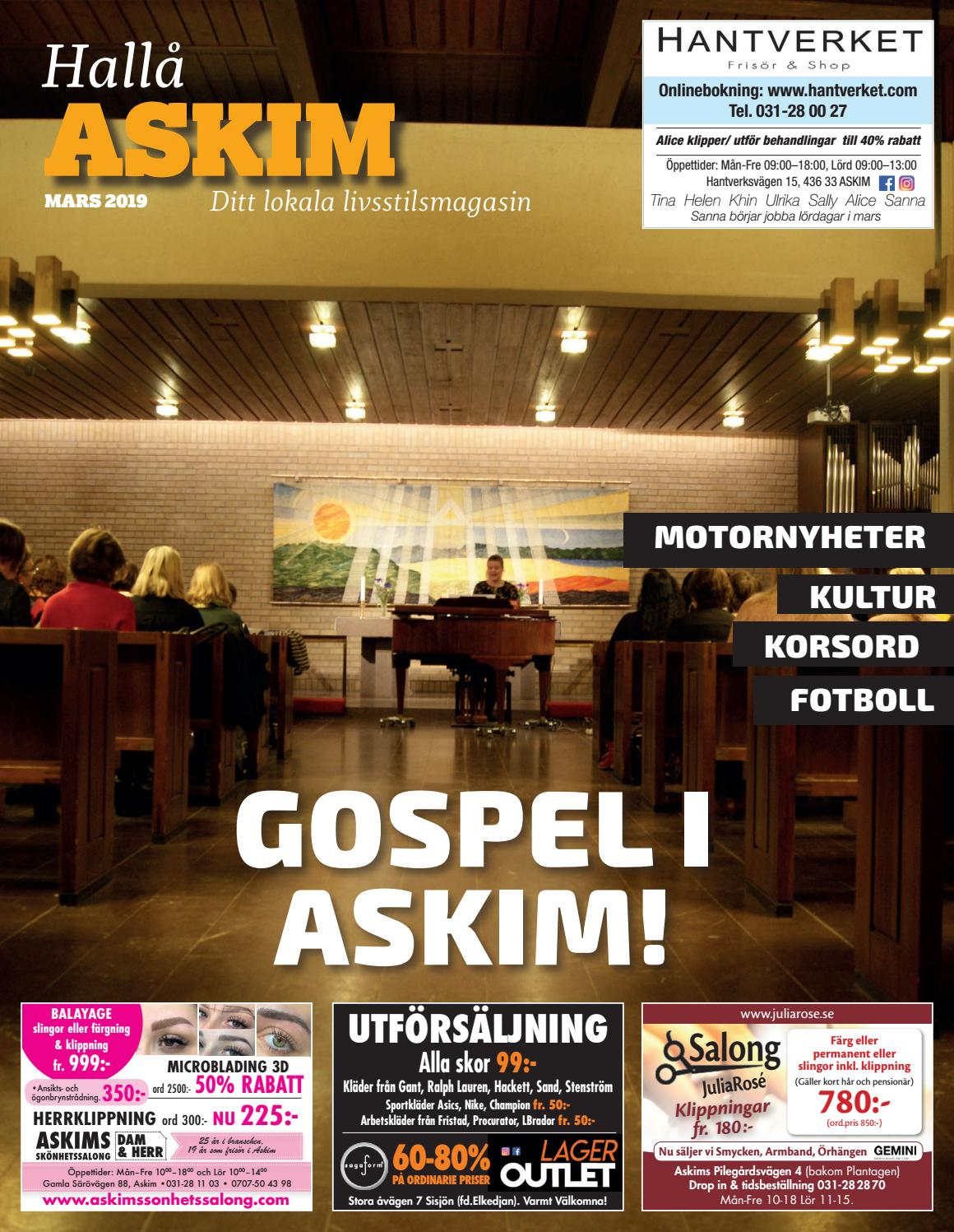 newest collection d06f3 49d7d Hallå Askim mars 2019 by MediaKonsult - issuu