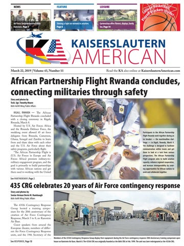 Kaiserslautern American, March 22, 2019 by AdvantiPro GmbH
