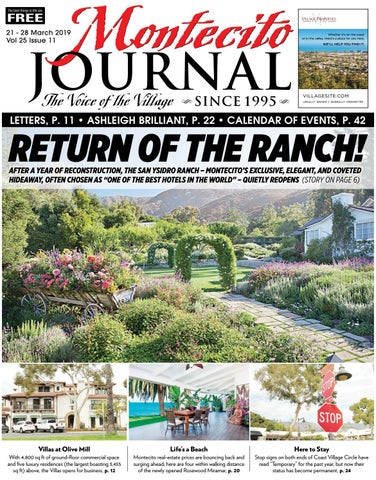 Return of the Ranch by Montecito Journal - issuu
