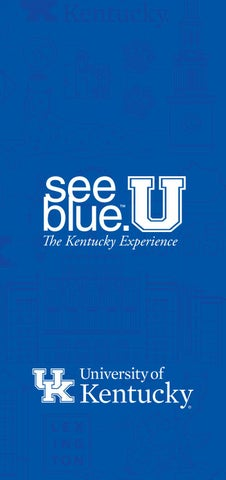 2018 19 Acceptance Package By University Of Kentucky Issuu