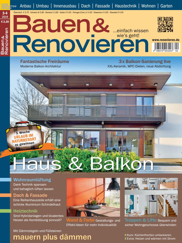 Bauen Renovieren 3 4 2019 By Fachschriften Verlag Issuu