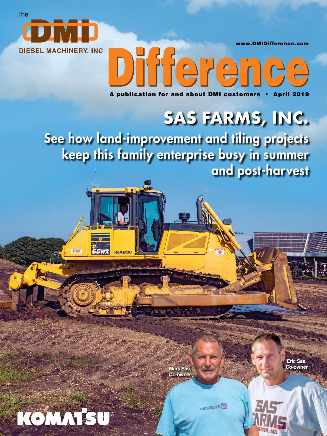 DMI Difference, April 2019 by Construction Publications, Inc