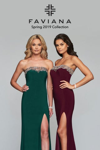 06c266b294f Faviana 2019 Spring Collection by Faviana - issuu