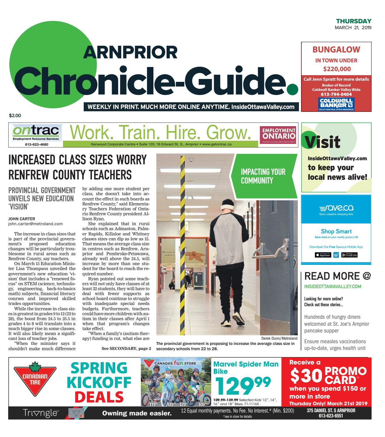 Arnprior Chronicle Guide March 21