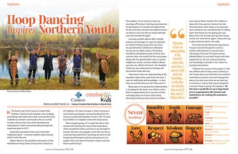 Page 5 of Hoop Dancing Inspires Northern Youth
