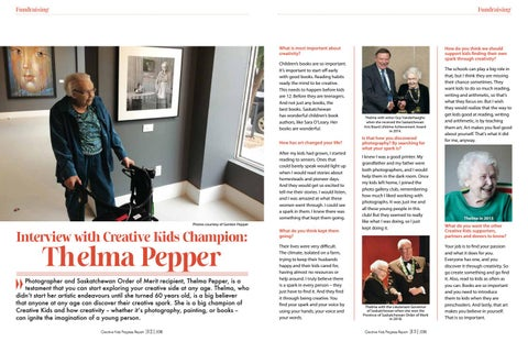 Page 8 of Interview with Creative Kids Champion: Thelma Pepper