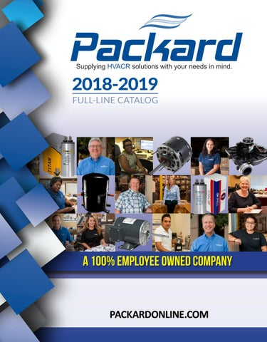 packard's full-line catalog