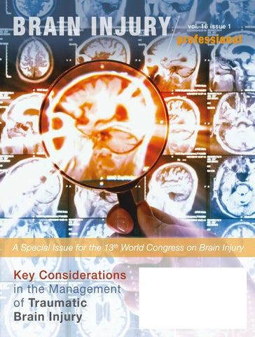 Key Considerations in the Management of Traumatic Brain