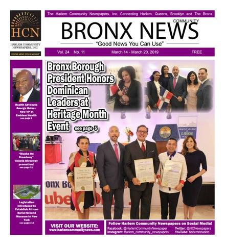 Bronx Community Newspapers | March 14, 2019 by Mike Kurov - issuu