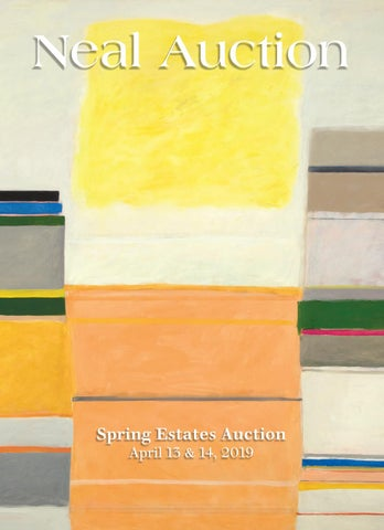 Spring Estates Auction - Auction 13 & 14, 2019 by Neal