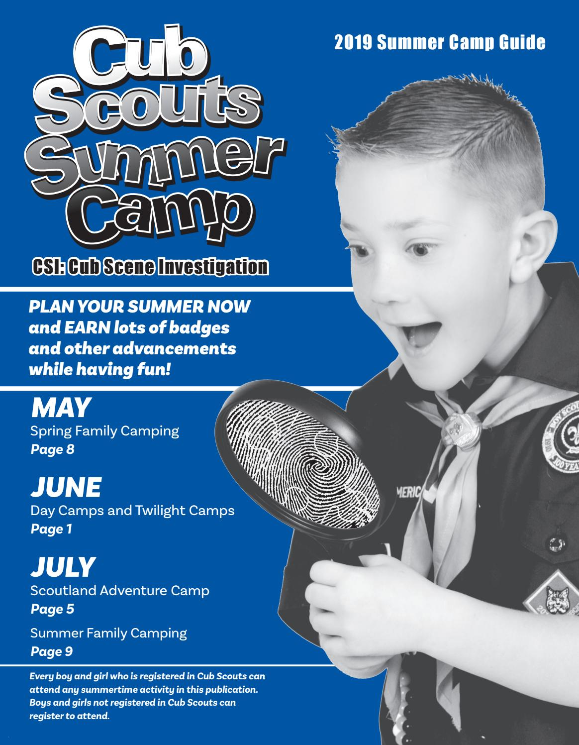 Northeast Georgia Council Boy Scouts Summer Camp Blue book
