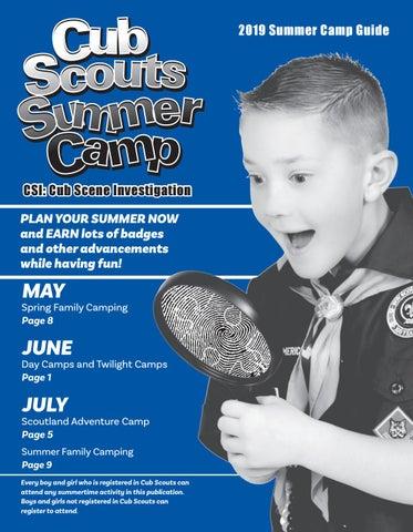 Northeast Georgia Council Boy Scouts Summer Camp Blue book 2019 by