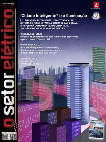 f762aa8916 O Setor Elétrico (edição 157 - Fev 2019) by Revista O Setor Elétrico ...