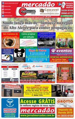 2ad9ef524 Jornal Mercadão Online Grátis - 22 a 28 de Março de 2019 by ...