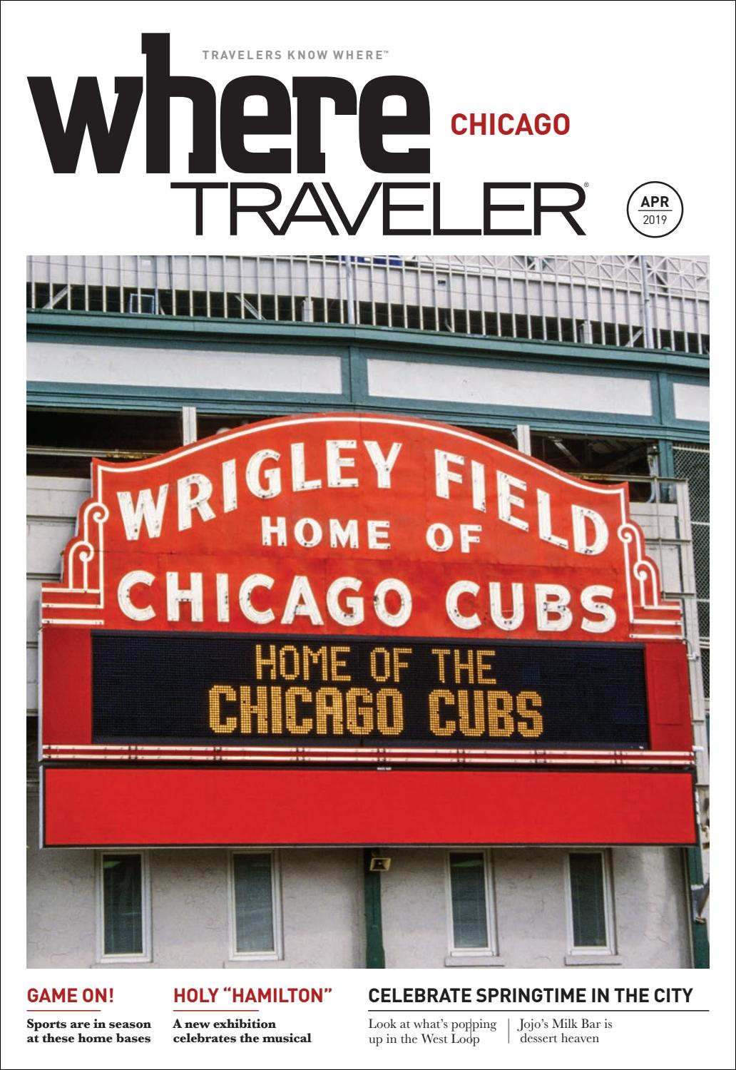 8055a906 Where Magazine Chicago Apr 2019 by Morris Media Network - issuu