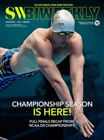 8e96f53021 SW Biweekly - March 21, 2019 by Swimming World Magazine - issuu