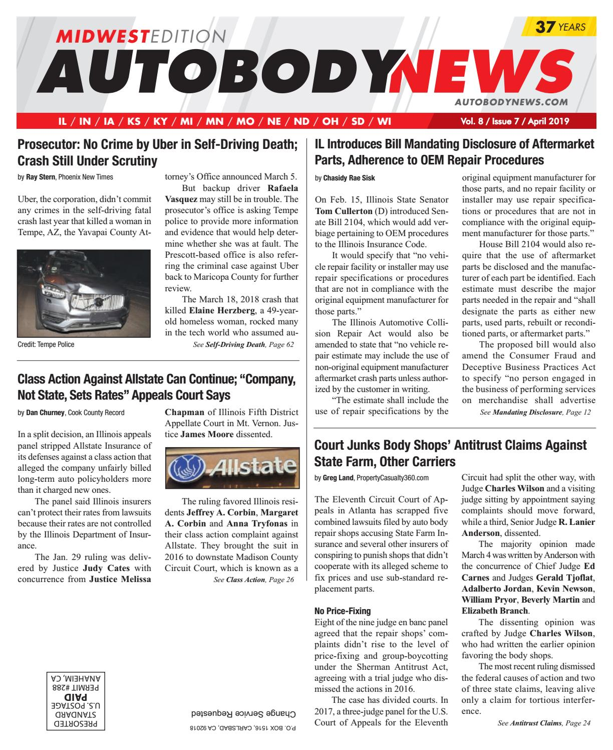 April 2019 Midwest Edition by Autobody News - issuu