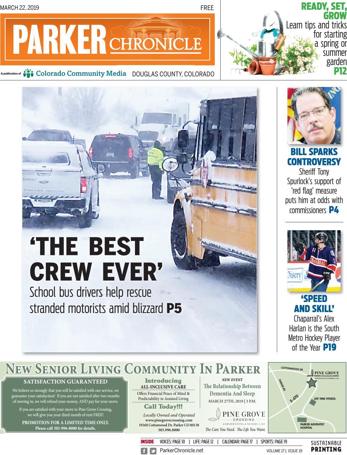 de1c627e0ff9 Parker Chronicle 0322 by Colorado Community Media - issuu