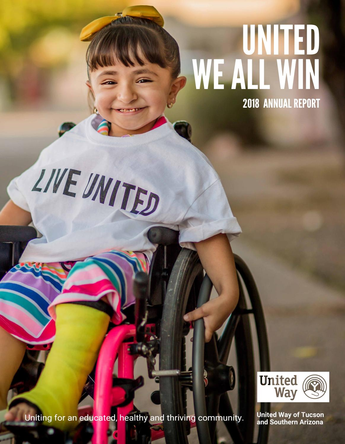 2018 Annual Report: United Way of Tucson and Southern Arizona by