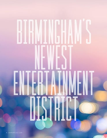 Page 10 of Birmingham's Newest Entertainment District