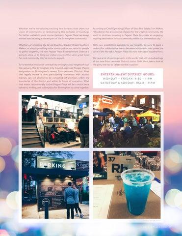 Page 11 of Birmingham's Newest Entertainment District