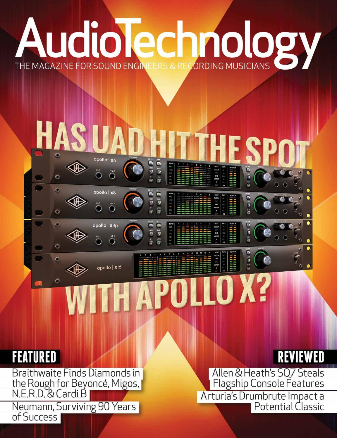 AudioTechnology App Issue 55 by Alchemedia Publishing - issuu