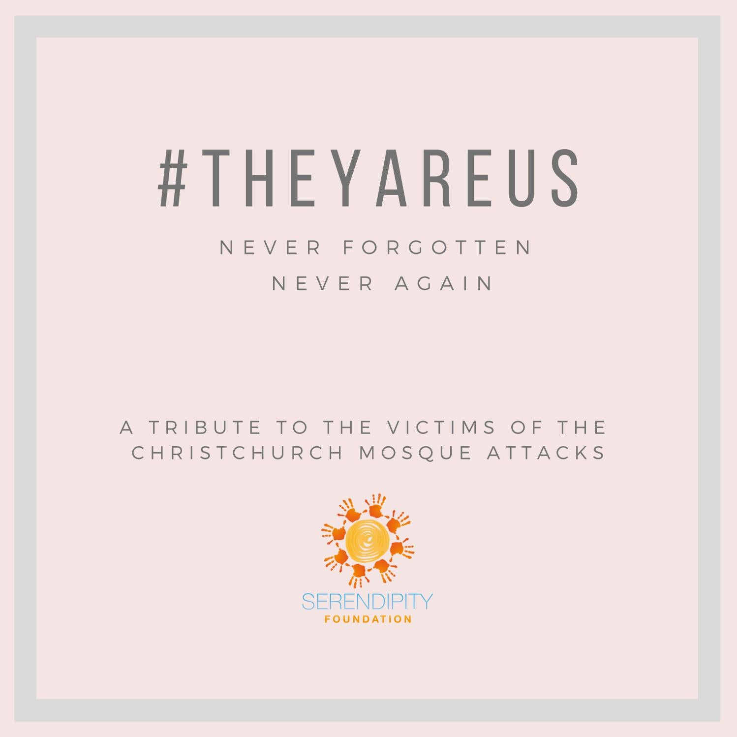 theyareus - A Tribute of Condolences to the victims of the