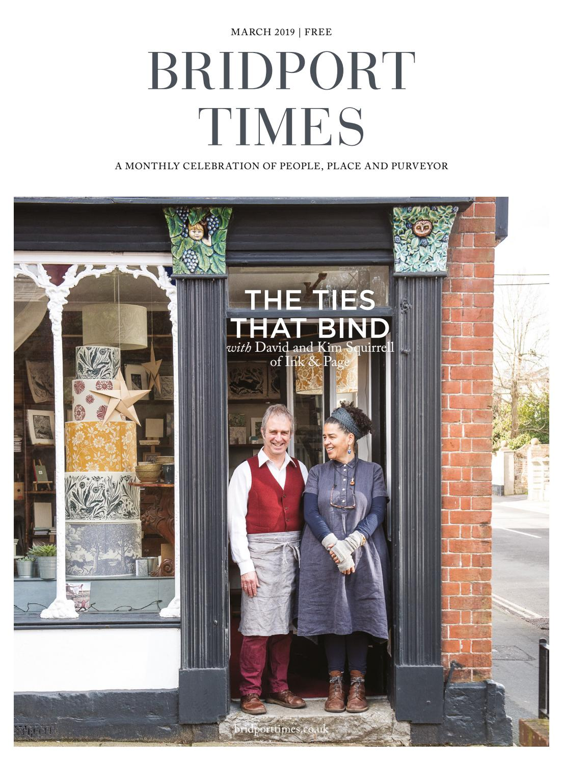a19a02acd6e64a Bridport Times March 2019 by Sherborne & Bridport Times - issuu
