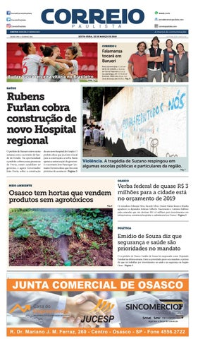 f10e9d9dd5 jornal Correio Paulista 1361 by Jornal Correio Paulista - issuu