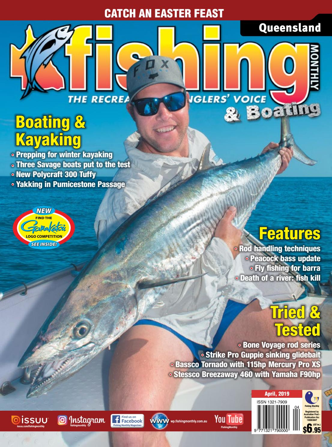 5c3a872eef000 Queensland Fishing Monthly April 2019 by Fishing Monthly - issuu