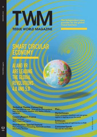 Tissue World Magazine March/April 2019 by Tissue World