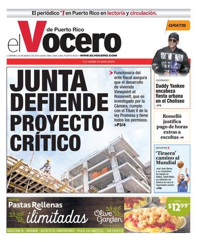 552a491fa Edición: 22 de marzo de 2019 by El Vocero de Puerto Rico - issuu