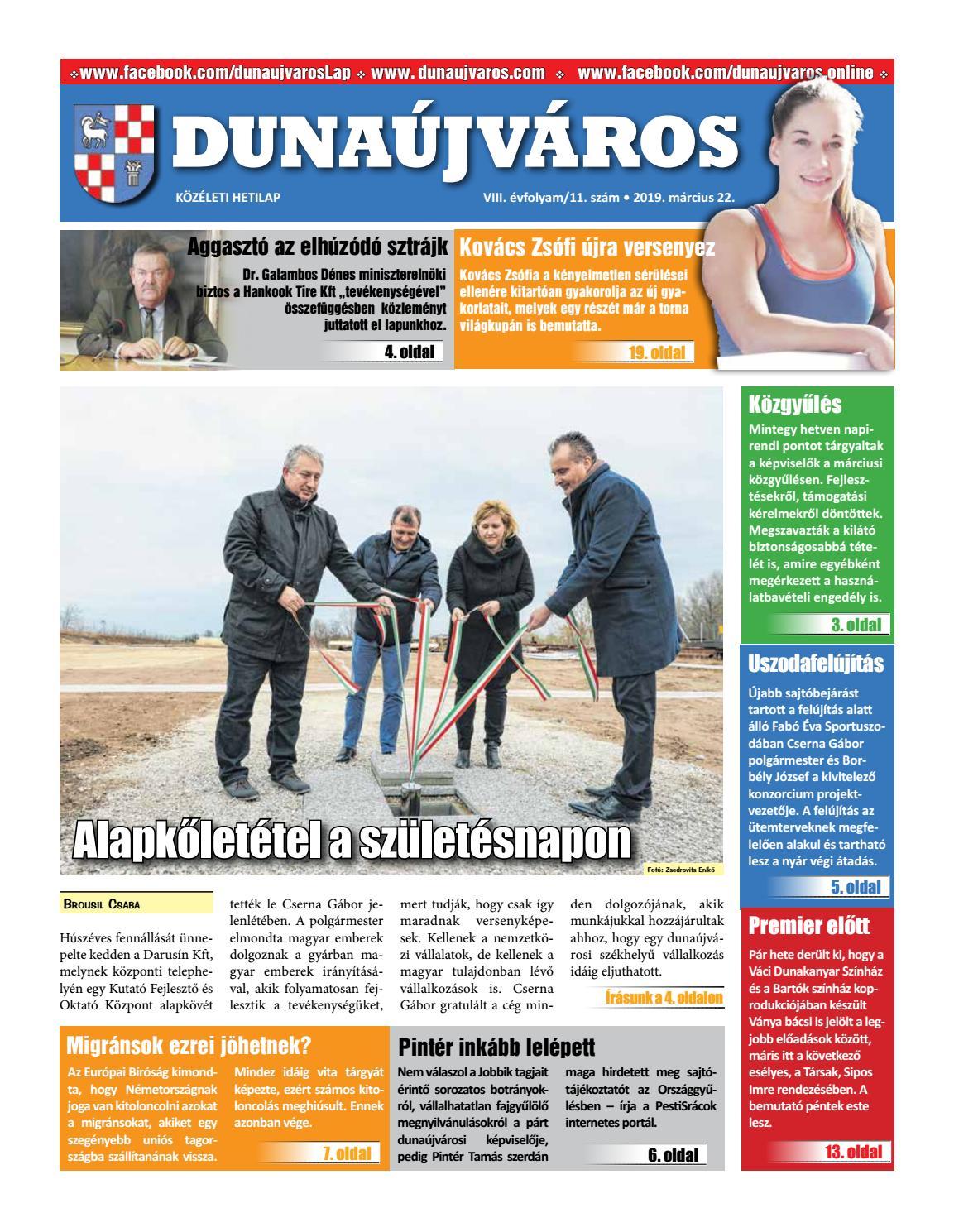 ba582f647c DKH_2019-03-22 by Dunaújváros Közéleti Hetilapja - issuu