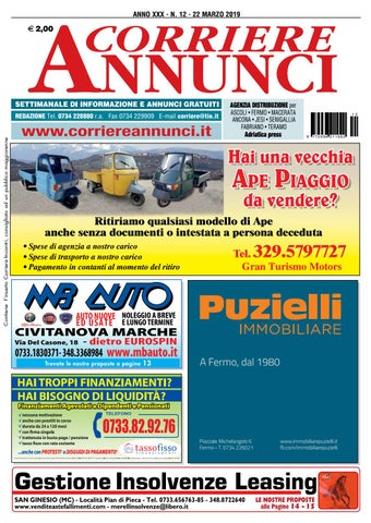 08bfa52ace Corriere 12-2019 by Corriere Annunci - issuu