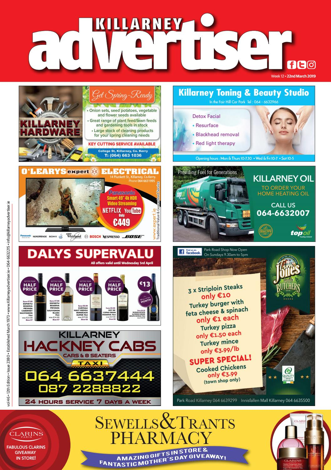 98060c51f7 Killarney Advertiser 22nd March 2019 by Killarney Advertiser - issuu