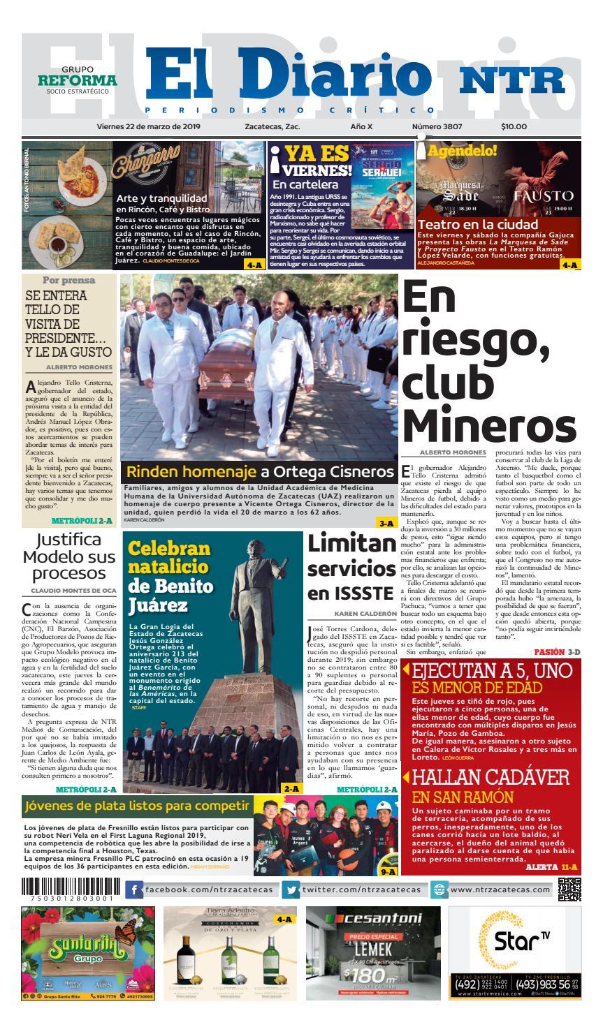 bc16cb523 Diario NTR by NTR Medios de Comunicación - issuu